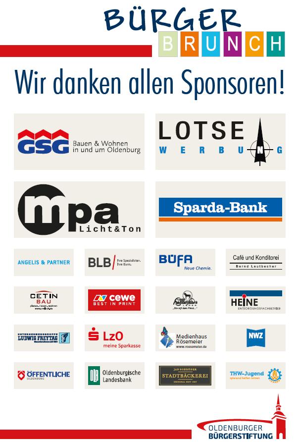 Homepage Hauptsponsoren